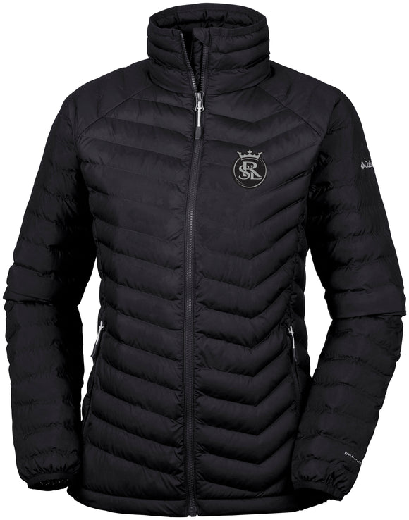 RSL Columbia Womens Black Powder Lite Jacket