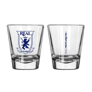 Real Monarchs Game Day Shot Glass