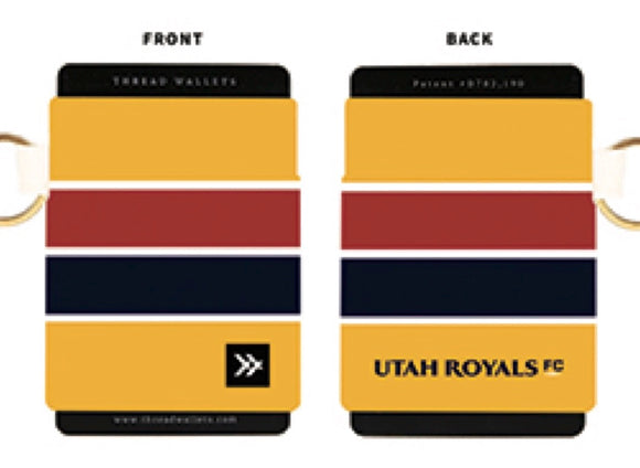 Utah Royals FC Thread Wallets Wordmark Elastic Wallet