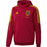 2021 RSL Adidas Mens Red Hooded Travel Jacket
