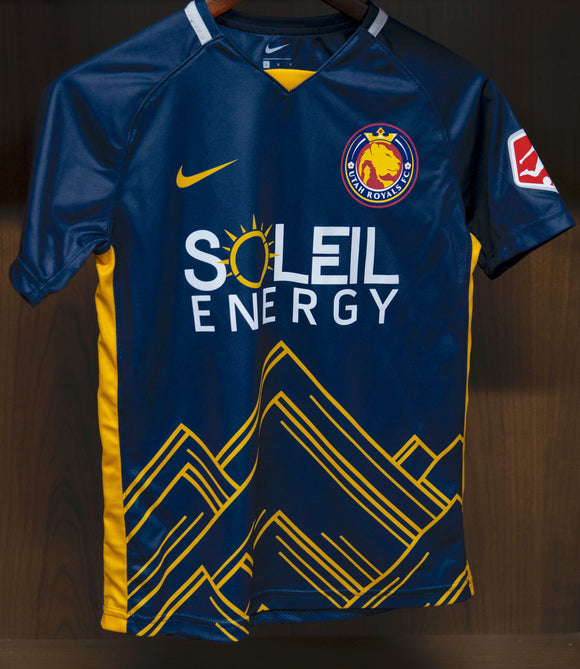 Utah Royals FC Youth Navy 2020 Primary Jersey