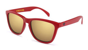 RSL Matte Red Sunglasses