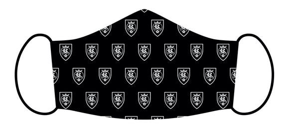 RSL Black Logo Scatter Mask