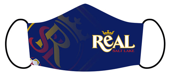RSL Blue Wordmark Mask