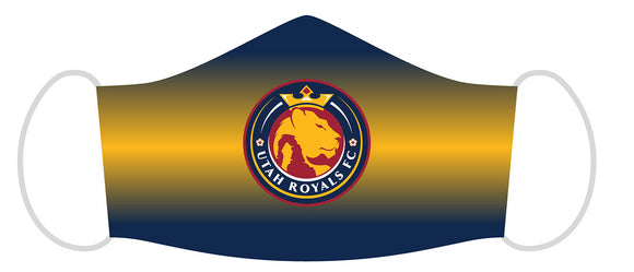 Utah Royals FC Youth Face Mask