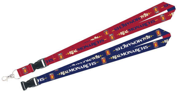Real Monarchs Lanyard w/Detachable Buckle