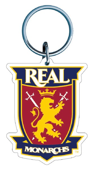 Real Monarchs Premium Acrylic Key Ring