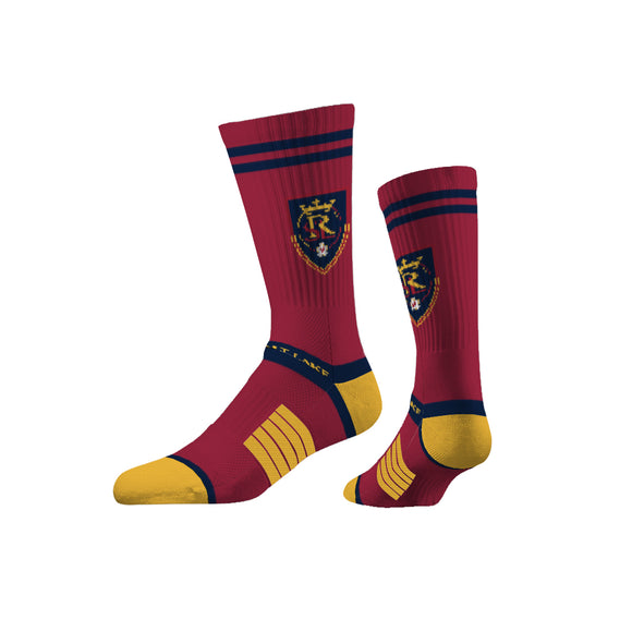 RSL Red Premium Knit Crew Socks