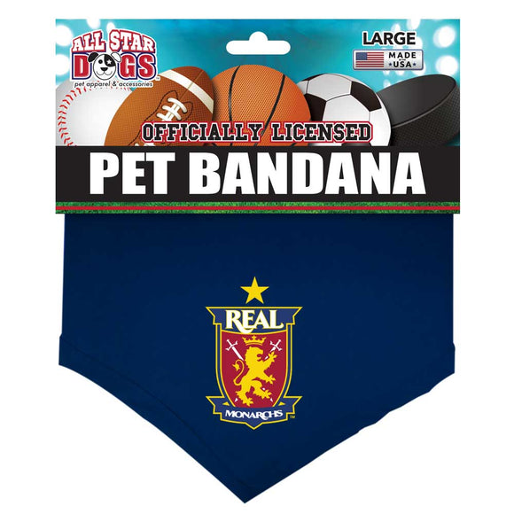 Real Monarchs Dog Bandana
