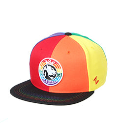 Utah Royals FC Zephyr All-Over Rainbow Z11 Snapback