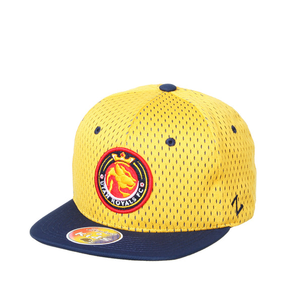 Utah Royals FC Zephyr Youth Gold/Navy Recruit Hat