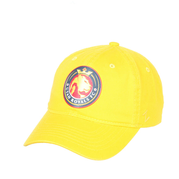 Utah Royals FC Zephyr Gold FlexStyle Scholarship Adjustable Hat