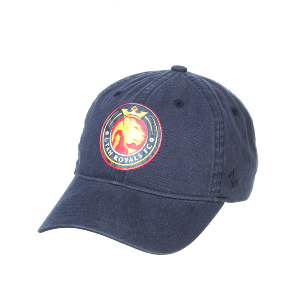 Utah Royals FC Zephyr Navy FlexStyle Scholarship Adjustable Hat