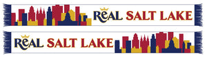 RSL Salt Lake City Skyline Knit Scarf