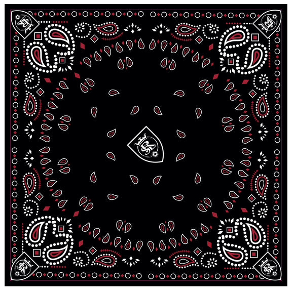 RSL Black & Red Bandana