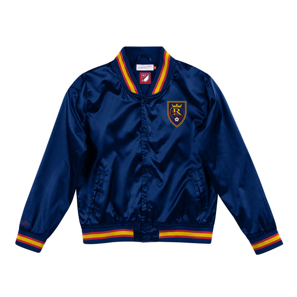 RSL Mitchell & Ness Womens Lightweight Satin Jacket