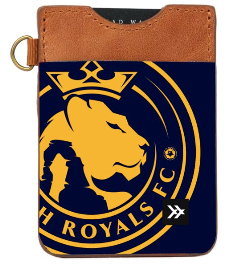Utah Royals FC Thread Wallets Logo Vertical Wallet