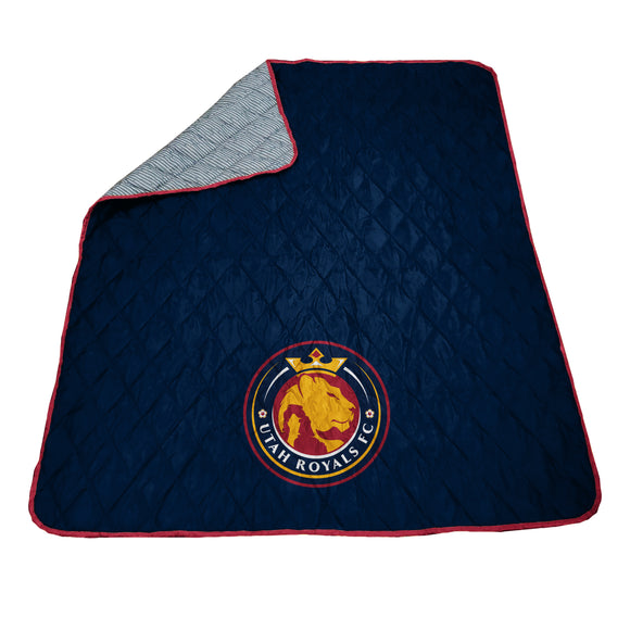 Utah Royals FC Outdoor Camping Blanket