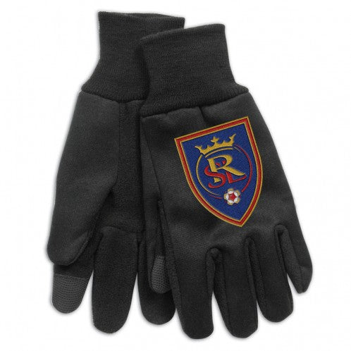 RSL Black 9oz. Tech Gloves