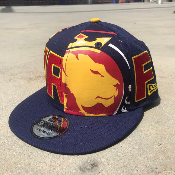 Utah Royals FC New Era 9FIFTY Logo Wrap Snapback