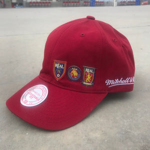 "Mitchell & Ness Red ""The Family"" Low Pro Hat"