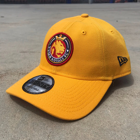 Utah Royals FC New Era 9TWENTY Gold Hat