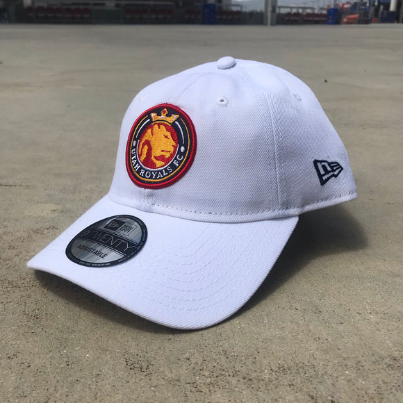 Utah Royals FC New Era 9TWENTY White Hat