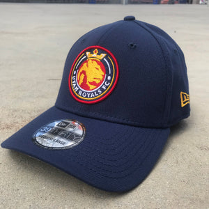 Utah Royals FC New Era 39THRITY Navy Stretch Fit Hat