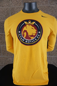 Utah Royals FC Nike Mens Gold Core Cotton Long Sleeve Shirt