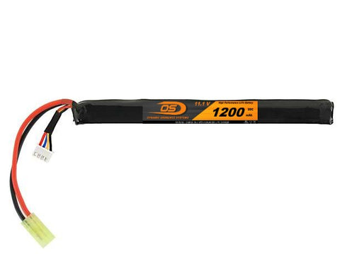 11.1V 1200mA LiPO Long Stick Battery