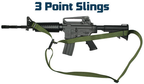 Tactical 3 Point Sling Black
