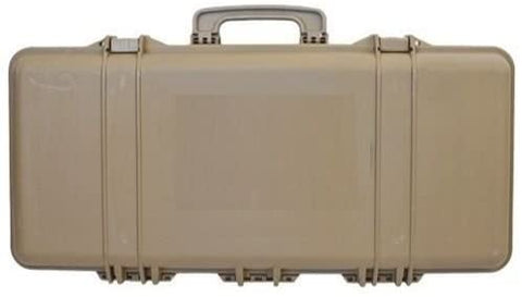 Hard Gun Case Medium Tan