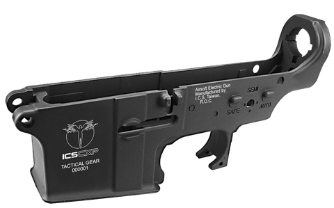 ICS CXP Metal Lower Receiver Black