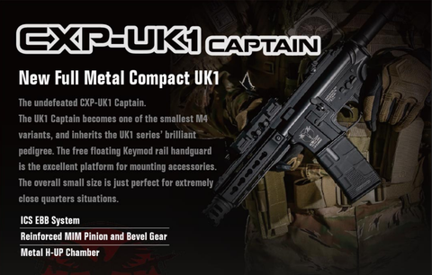 ICS CXP-UK1 Captain MTR Stock EBB BK