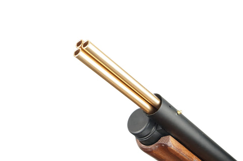 Outer barrel extension can be removed, exposing the 3 inner barrel extensions, which are also removable.