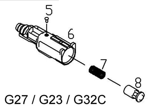 KJ KP-23 (G23) Loading Nozzle Assembly