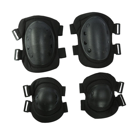 Knees and Elbow Pads Black