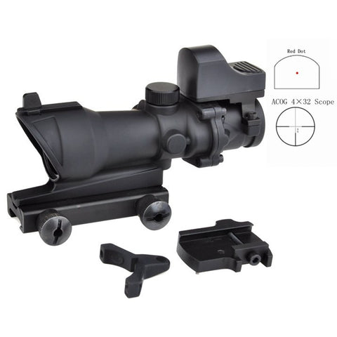 ACOG TA01 with Doctor Red Dot Scope Replica