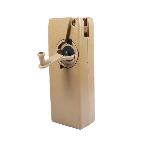Rotary Hand Crank 1600rd Speed loader - Tan