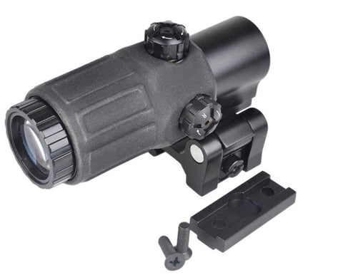 G33 Style 3x Magnifier with flip to side mount