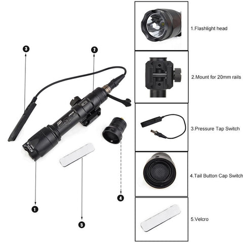 SF M600C Scout Tactical Light