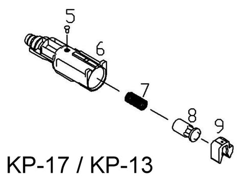 KJ KP-17 (G17) Loading Nozzle Assembly
