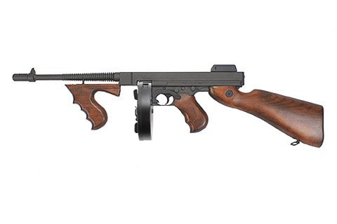 King Arms Thompson M1928 Real Wood