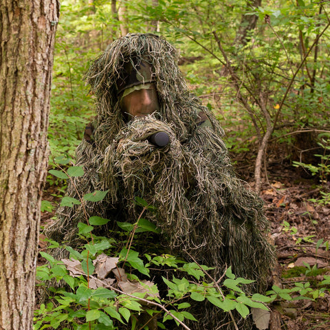 Woodland Ghillie Suit Delux Set