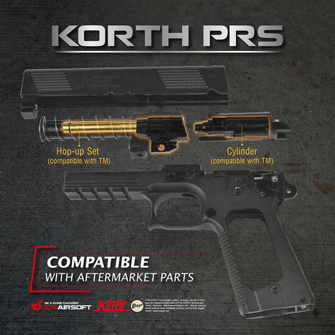 ICS Licensed KORTH PRS GBB Pistol