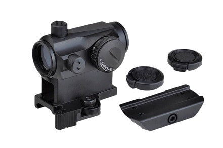 T1 Micro Reflex Red / Green Dot Sight with QD Riser and Low Profile Mount