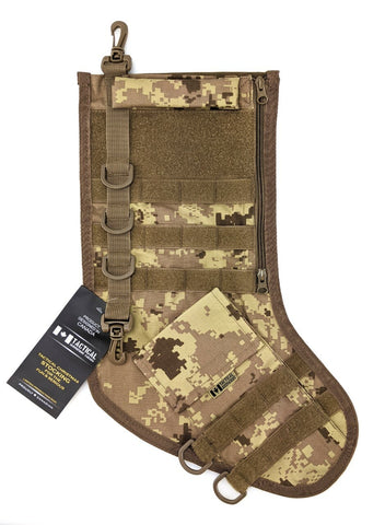 Tactical Christmas Stocking - Digital Desert