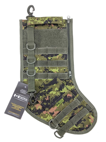 Tactical Christmas Stocking - Digtal Forest
