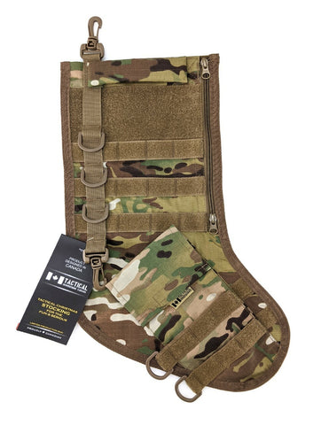 Tactical Christmas Stocking - Multicam