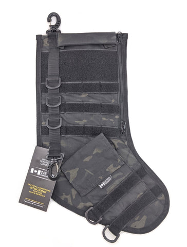 Tactical Christmas Stocking - Multicam Black